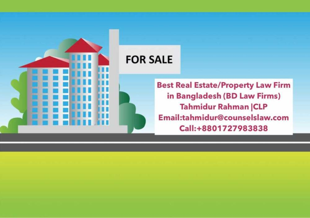 Best Real Estate Law Firm In Dhaka Bangladesh