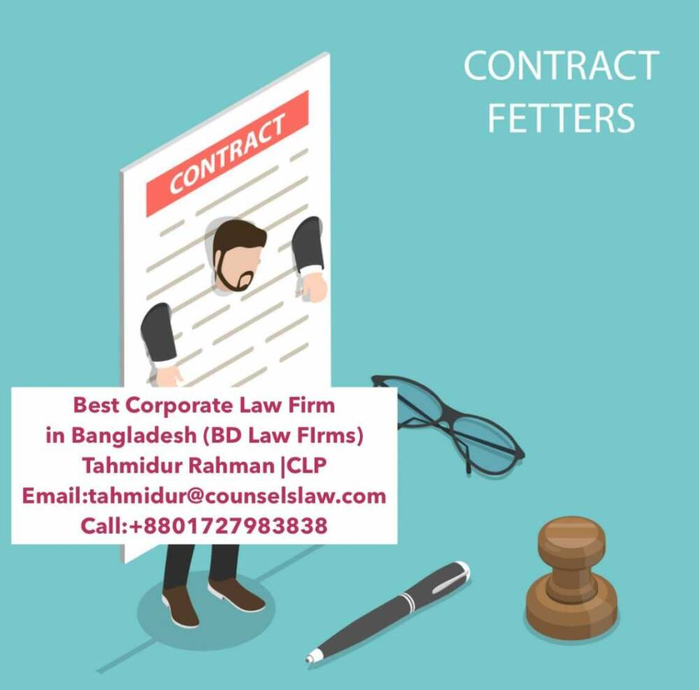 Contract Agreement Law Firm In Dhaka Tahmidur Rahman