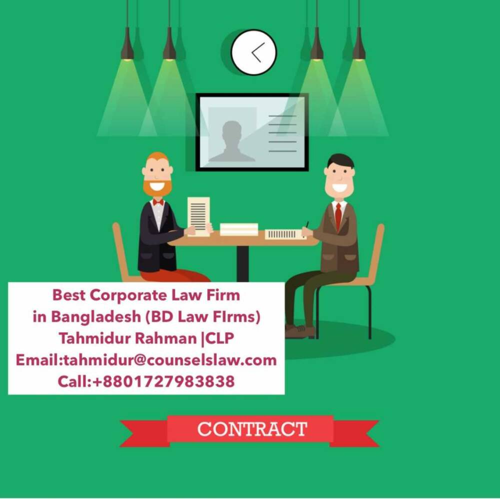 Corporate Contract Law Firm In Dhaka Bangladesh Tahmidur Rahman