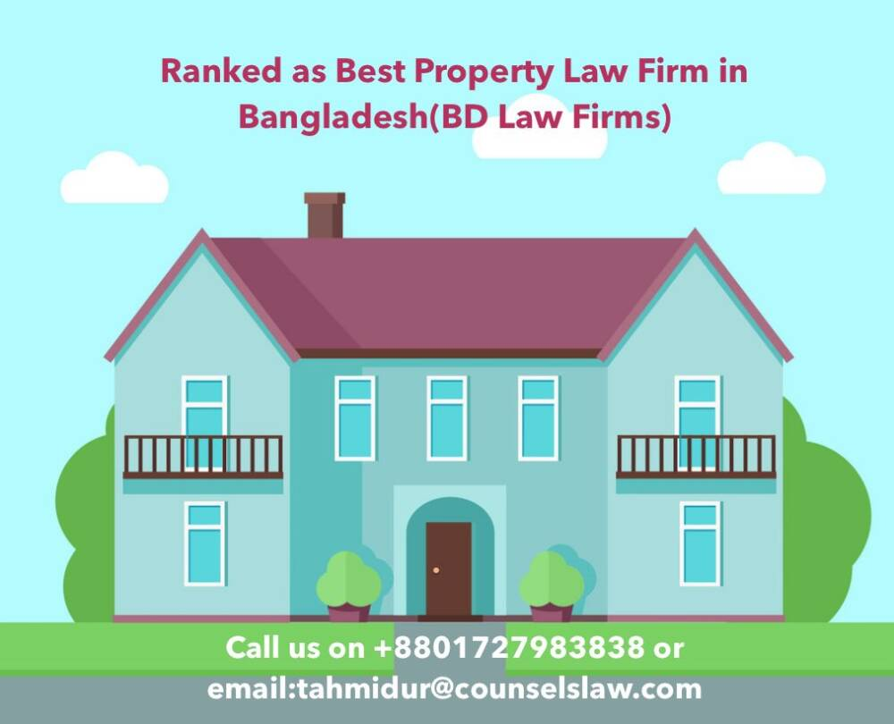 How To Buy Property In Bangladesh Law Firm In Dhaka Tahmidur Rahman
