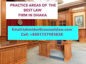 Law Firm in Dhaka CLP Practice Areas Tahmidur Rahman