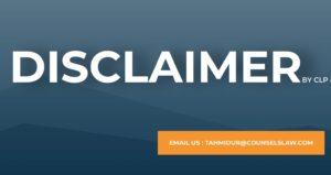 Disclaimer Tahmidur Rahman