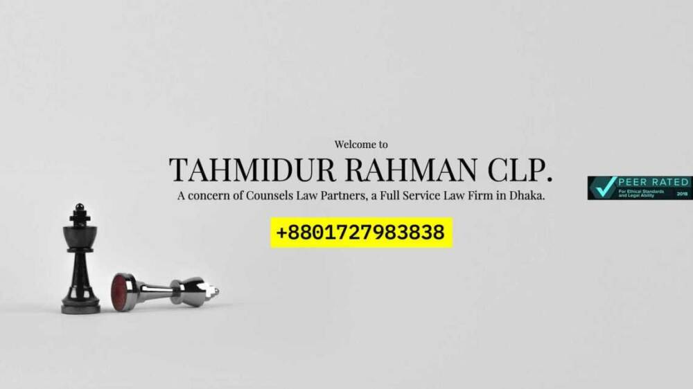 Tahmidur Rahman|Clp- Law Firm In Dhaka
