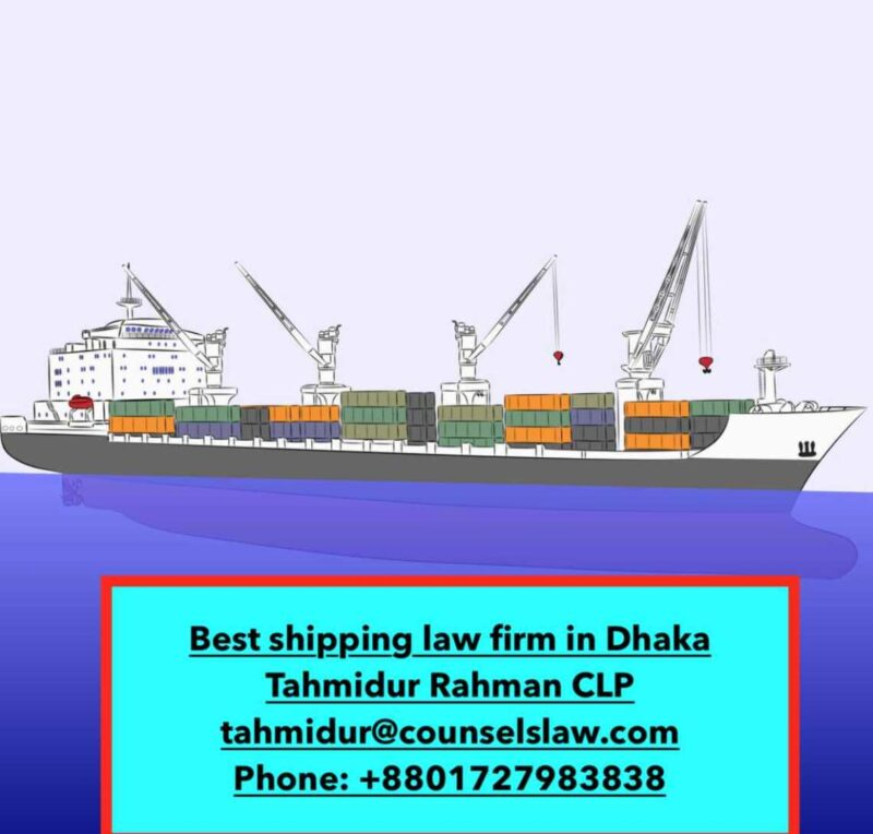 Charter Shipping contract in bangladesh_ tahmidur Rahman_ best admiralty law firm in bangladesh