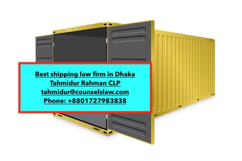 Charter Shipping contract in bangladesh_best cargo contract law firm in bangladesh