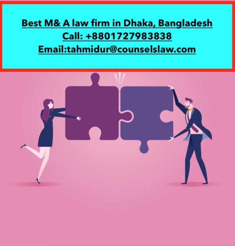 Mergers and Acquisitions in Bangladesh _Top law firm in Bangladesh