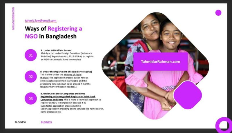 Ngo Registration In Bangladesh_How To Register A Ngo In Bangladesh