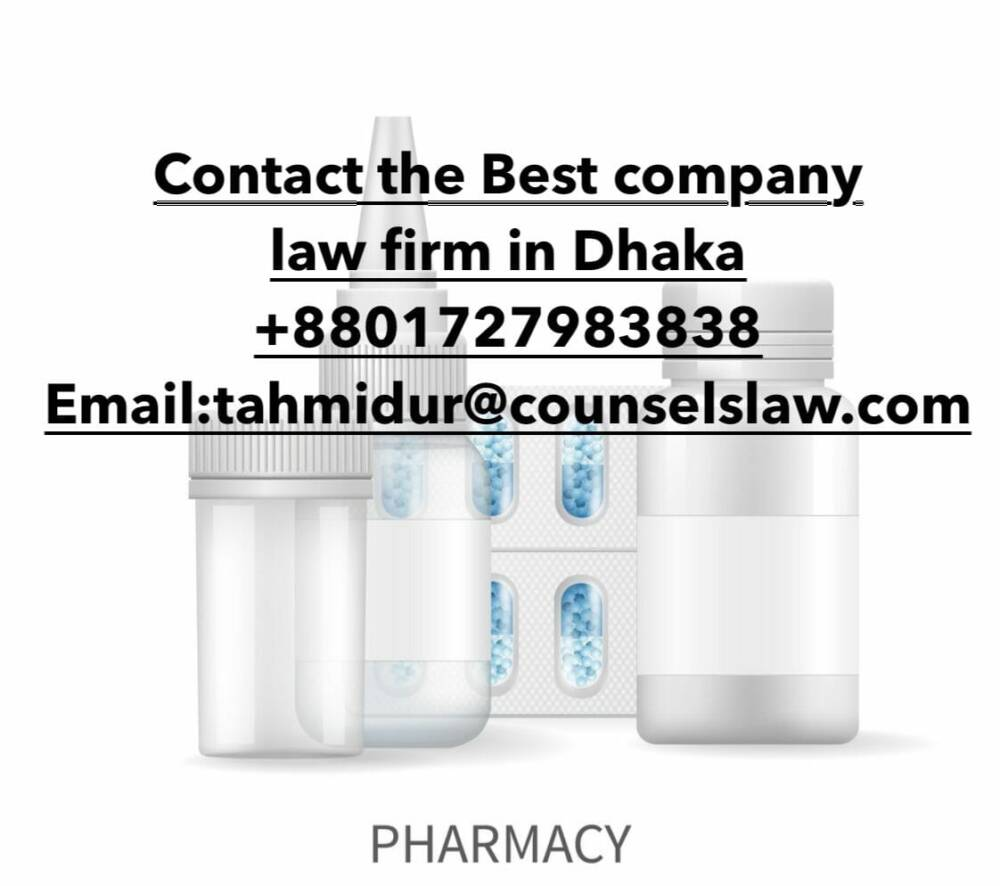 Pharmacy Business In Bangladesh_Best Law Firm In Bangladesh